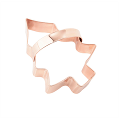 chirstmas tree copper cookie cutter