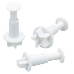 Sweetly Does It Star Fondant Plunger Cutters