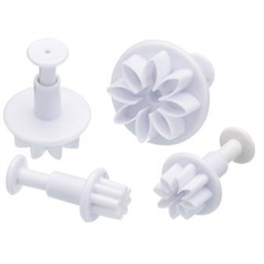 Sweetly Does It Flower Fondant Plunger Cutters