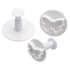 Sweetly Does It Butterfly Fondant Plunger Cutters