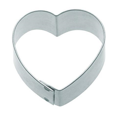 5cm Heart Shaped Metal Cookie Cutter