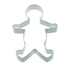 metal gingerbread man cookie cutter