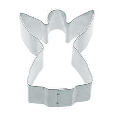 metal angel shaped cookie cutter