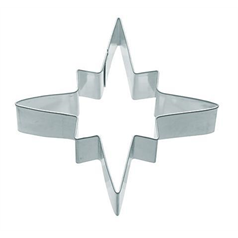 metal glowing star shaper cookie cutter