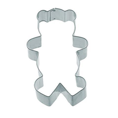 large metal teddy cookie cutter