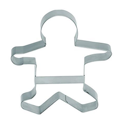 extra large gingerbread man shaped cookie cutter