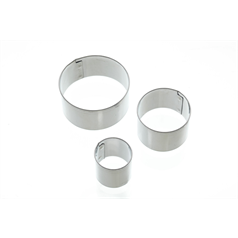 Set of 3 Round Fondant Cutters