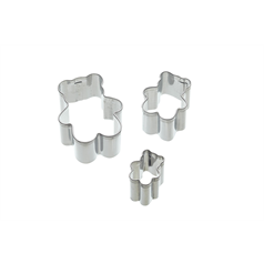 Set of 3 Bear Fondant Cutters