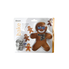 make & bake gingerbread man, set of 9