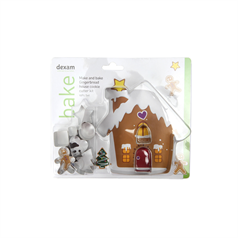 make & bake gingerbread house, set of 10