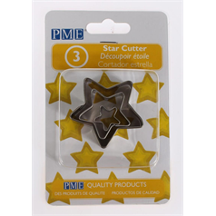 3 Piece Star Cutters