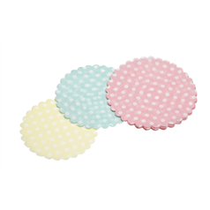Pack of 30 Mini Paper Doilies