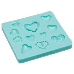 Silicone Hearts Fondant Mould