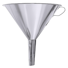Stainless Steel Funnel Top Diameter 14cm