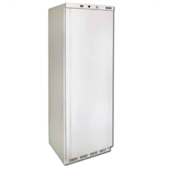polar refrigeration upright freezer, white, 365 litres