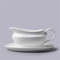 Traditional Gravy Boat With Saucer, 500ml