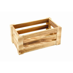 Rustic Wooden Crate, Small