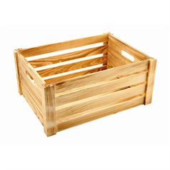 Rustic Wooden Crate, Large