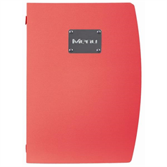 Rio Menu Holder, Red