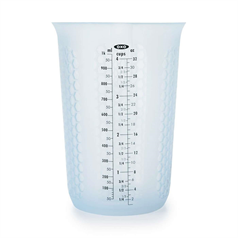 squeeze & pour silicone measuring cup, 1l