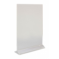 A4 Perspex Menu Holder Vertical