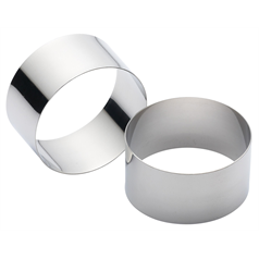 Stainless Steel Rings 7cm x 3.5cm