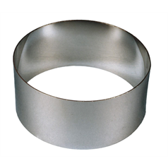 "mousse ring, s/s, 2.75 x 1.5"" e891"