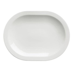 Elia Premier Bone China Miravell Oval Serving Plate, 33.5x25.2cm
