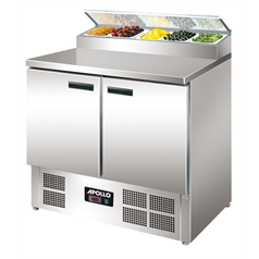 Apollo GN Salad 2 Door Prep Counter