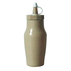 Sauce Bottles w/Cap 200ml/7oz Beige