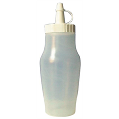 Sauce Bottles w/Cap 200mm/7oz Clear