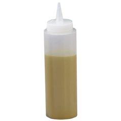 Sauce Bottle 8oz Clear