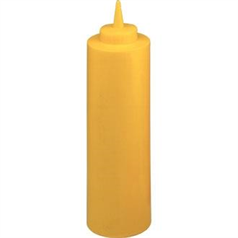 Sauce Bottles 12oz Yellow