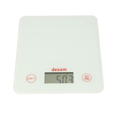 white digital scales