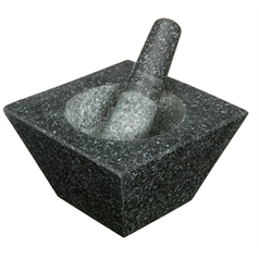 Square Heavy Duty Mortar and Pestle