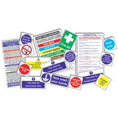Senior Health & Safety Sign Pack