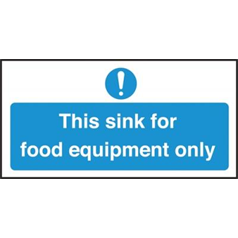 Sink For Food Equipment Only