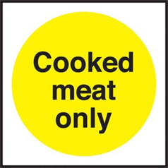 Cooked Meats Only