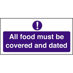 All Foods Must Be Covered/Dated