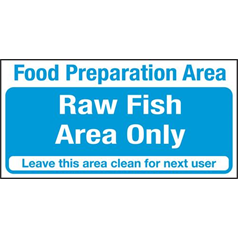 Raw Fish Area Only