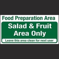 Salad & Fruit Area Only