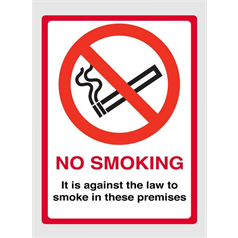 No Smoking It's Against The Law