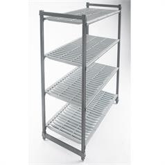 4 Tier Cambro Basics Shelving, 1830x910x460mm