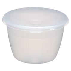 Plastic 150ml Pudding Basin and Lid