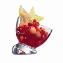 Ludico Angled Clear Dessert Bowl 7oz/21cl