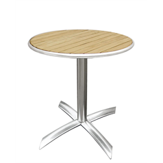 Ash Top Round Bistro Table Diameter: 600mm