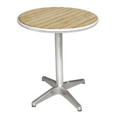 Ash Top Round Bistro Table Diameter: 800mm