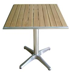 Ash Top Square Bistro Table