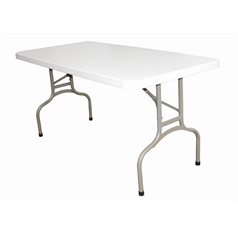 Foldaway 5ft (1.5m) Rectangle Utility Table