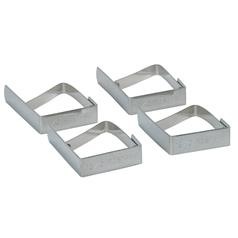Table Cloth Clips, Stainless Steel, Pack of 4